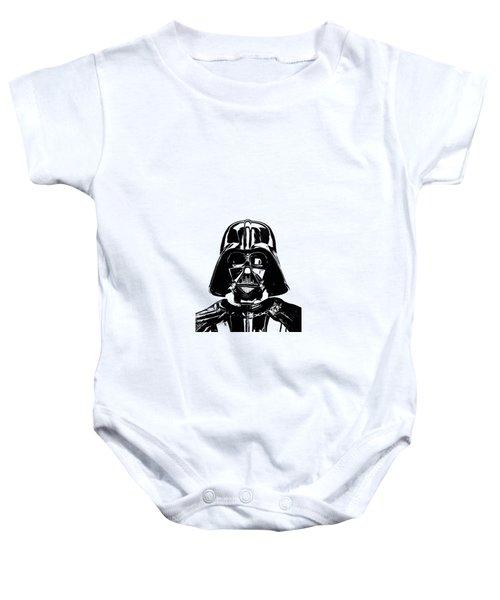Darth Vader Painting Baby Onesie