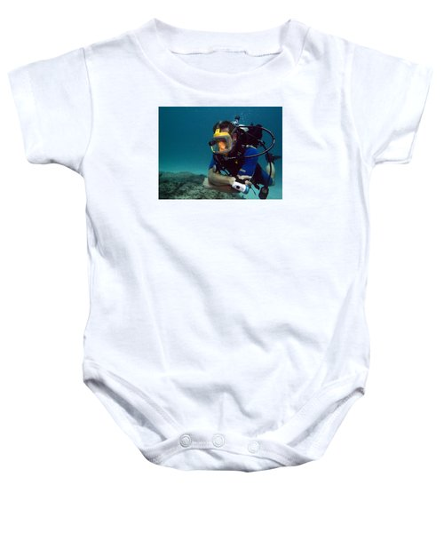 Dave In The Mask Baby Onesie