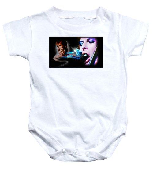 David Bowie  - Jean Genie Baby Onesie
