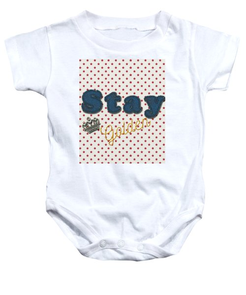 Denim Baby Onesie by La Reve Design