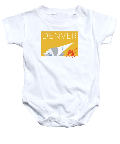 Denver Art Museum/gold Baby Onesie