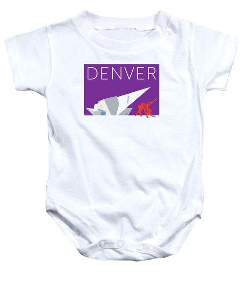 Denver Art Museum/purple Baby Onesie