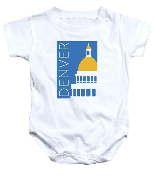 Denver Capitol/blue Baby Onesie