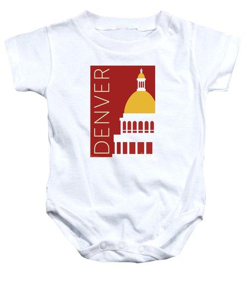 Denver Capitol/maroon Baby Onesie