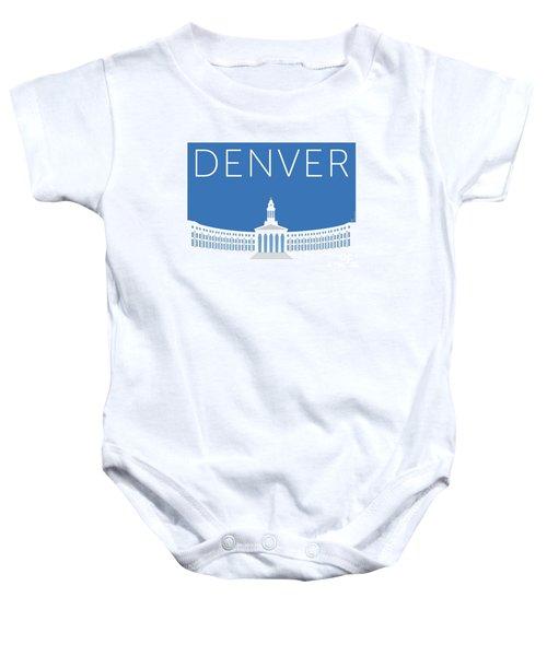Denver City And County Bldg/blue Baby Onesie