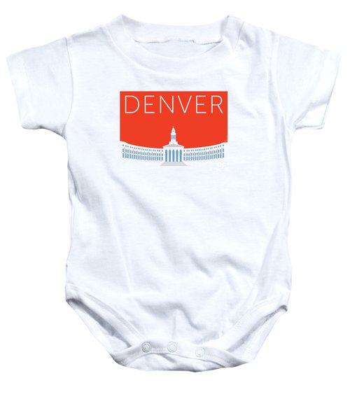 Denver City And County Bldg/orange Baby Onesie