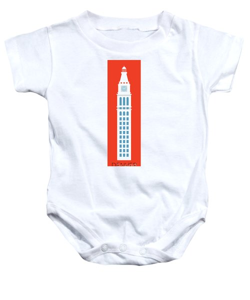Denver D And F Tower/tall Baby Onesie