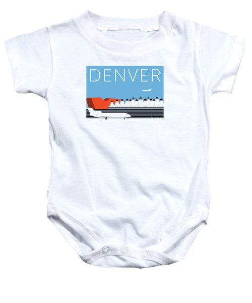 Denver Dia/blue Baby Onesie