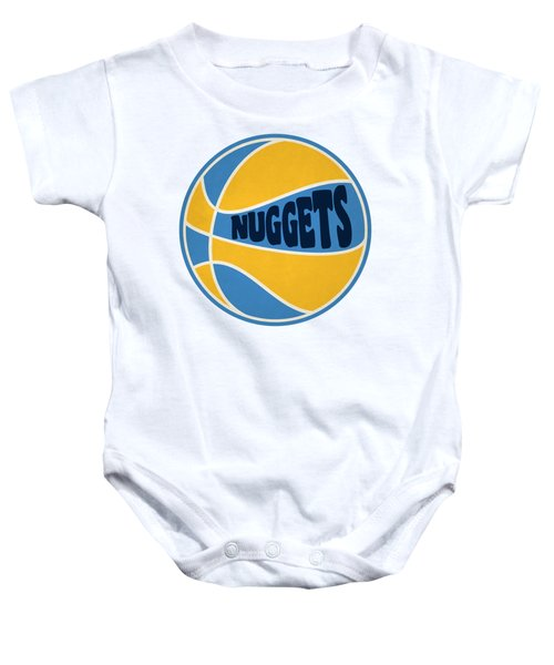 Denver Nuggets Retro Shirt Baby Onesie