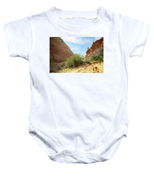 Desert Greenery Baby Onesie