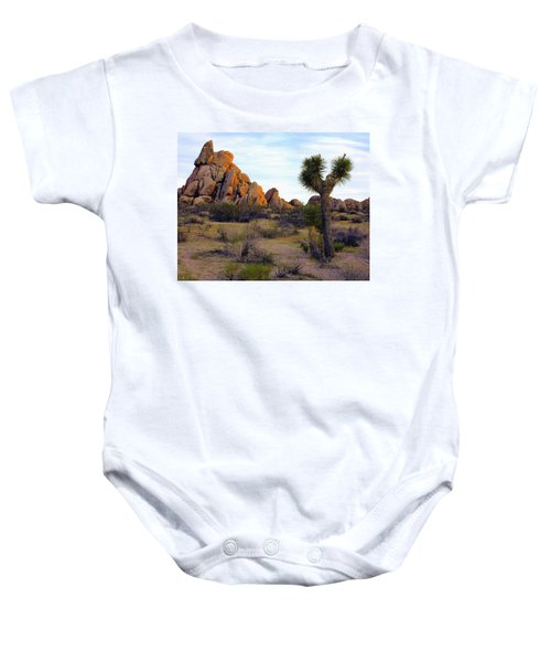 Desert Soft Light Baby Onesie
