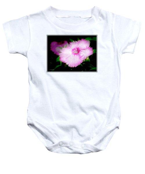 Dianthus Flower Baby Onesie