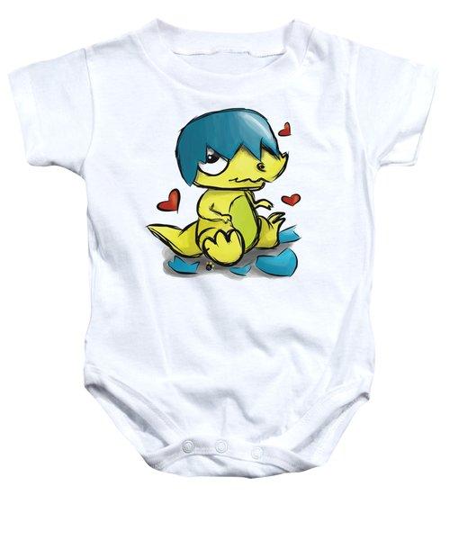 Dino Egg Baby Onesie