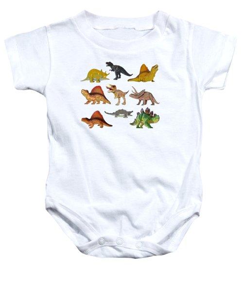 Dino Prehistoric Animals Baby Onesie