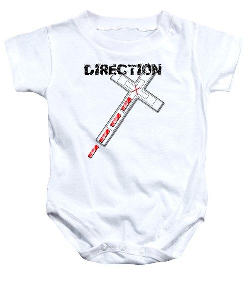 Direction Baby Onesie