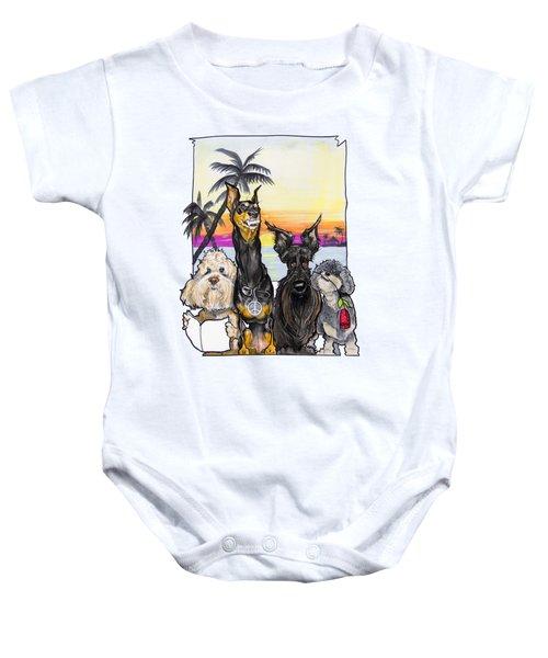Dog Island Getaway Baby Onesie