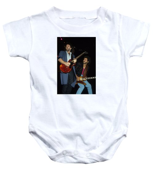 Don Barnes And Jeff Carlisi Of 38 Special Baby Onesie