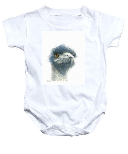 Dont Mess With Emu Baby Onesie