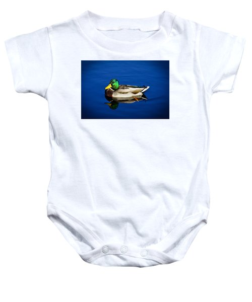 Double Duck Baby Onesie