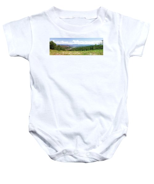Down The Valley At Snowmass #2 Baby Onesie