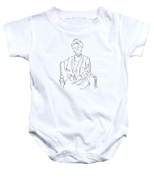 Downton Abbey - The Dowager Countess Baby Onesie