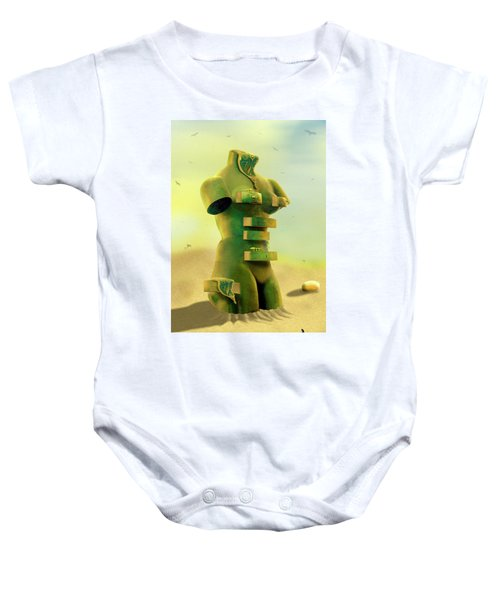 Drawers 2 Baby Onesie by Mike McGlothlen