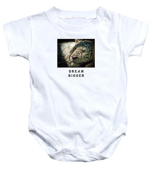 Dream Bigger Baby Onesie