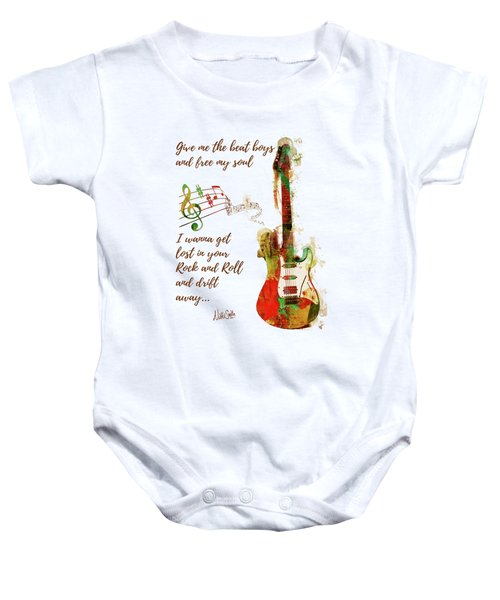Drift Away Baby Onesie by Nikki Marie Smith