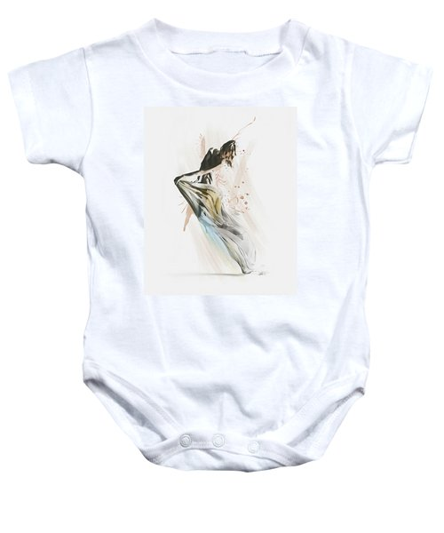 Drift Contemporary Dance Baby Onesie