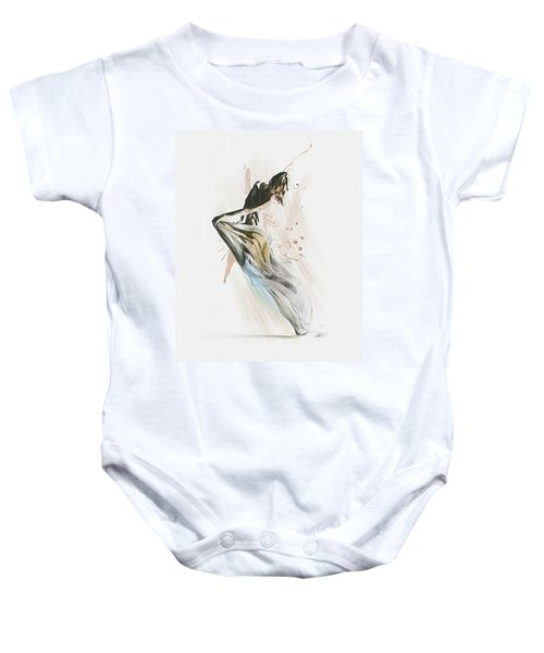 Drift Contemporary Dance Baby Onesie