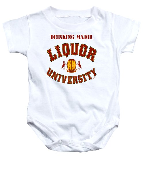 Drinking Major Baby Onesie
