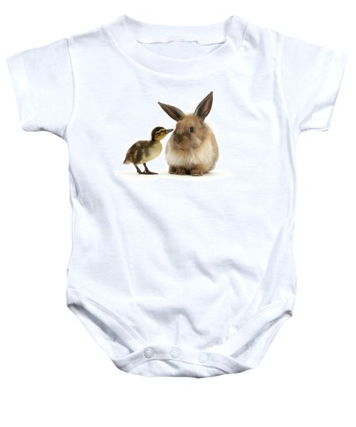 Duck Out Bunny Baby Onesie
