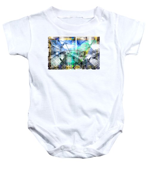 Dynamic Cubes Baby Onesie