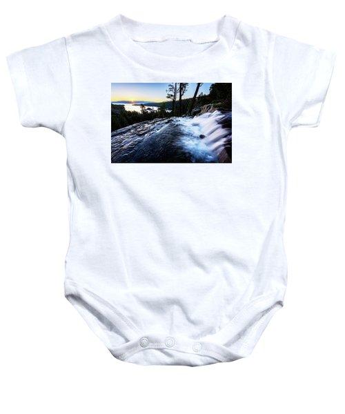 Eagle Falls At Emerald Bay Baby Onesie