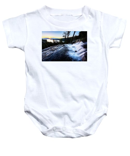 Eagle Falls At Emerald Bay Baby Onesie