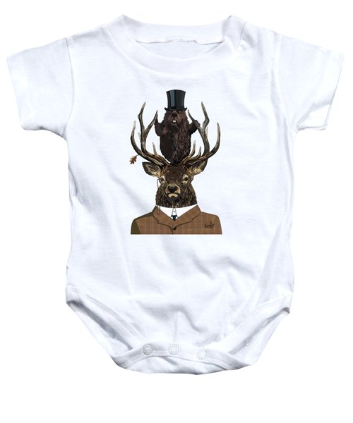 The Earl And Council With Hidden Pictures Baby Onesie