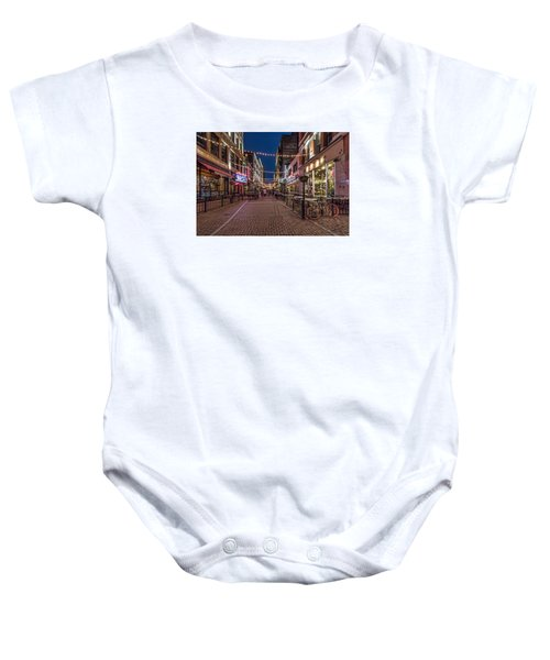 Early Evening On E. 4th Baby Onesie