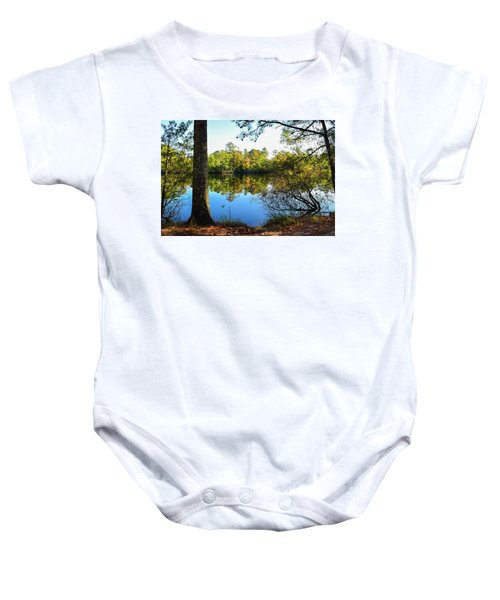 Early Fall Reflections Baby Onesie