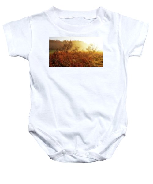 Early Morning Country Baby Onesie