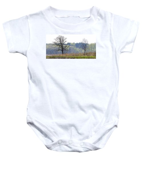 Early Spring Silhouettes  Baby Onesie