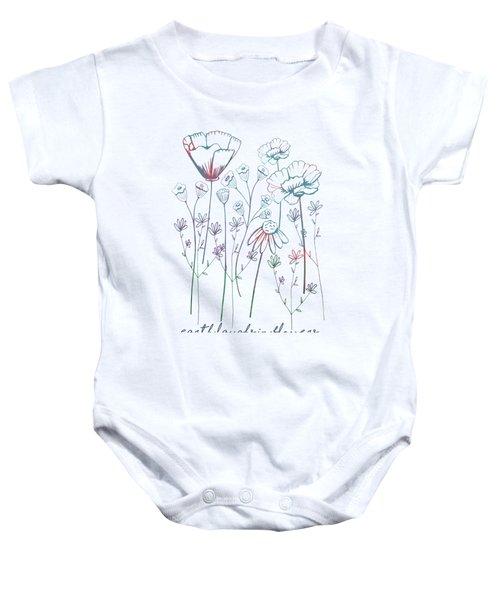 Earth Laughs In Flowers Baby Onesie