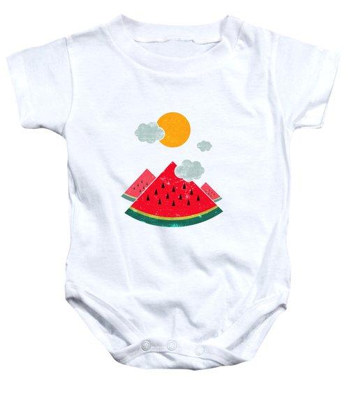 Eatventure Time Baby Onesie by Mustafa Akgul