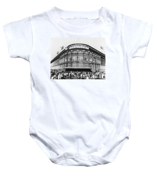 Ebbets Field, Brooklyn, Nyc Baby Onesie