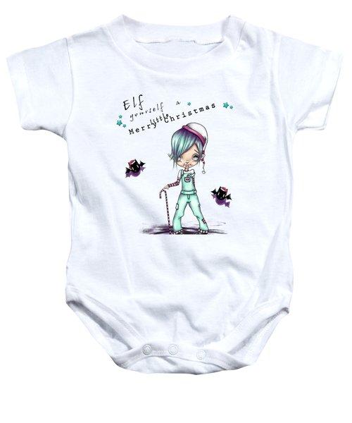 Eddie The Elf Baby Onesie by Lizzy Love
