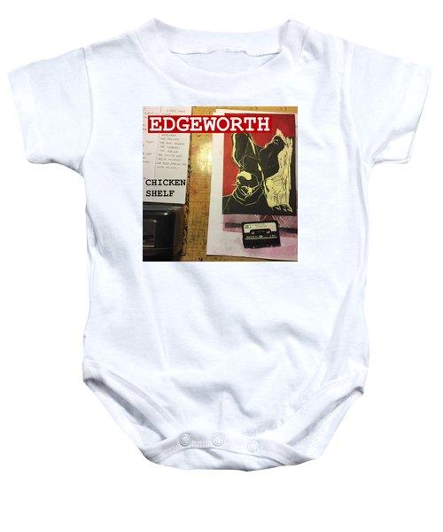 Edgeworth Chicken Shelf Cover Baby Onesie