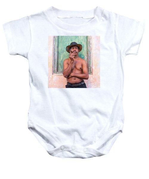 El Hombre Baby Onesie