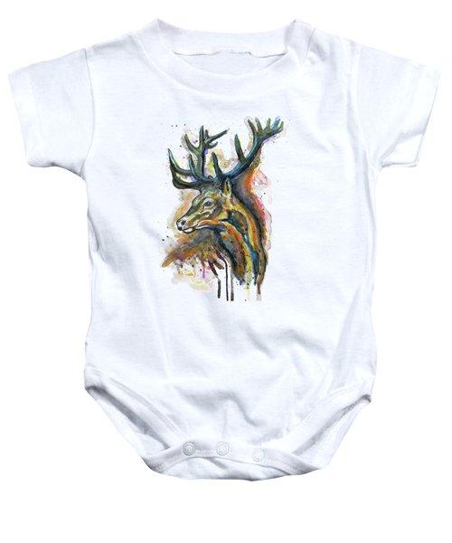Elk Head Baby Onesie