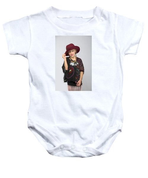 Elora In Threads Of 5 Years Time Baby Onesie