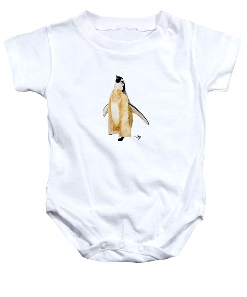 Emperor Penguin Chick Baby Onesie