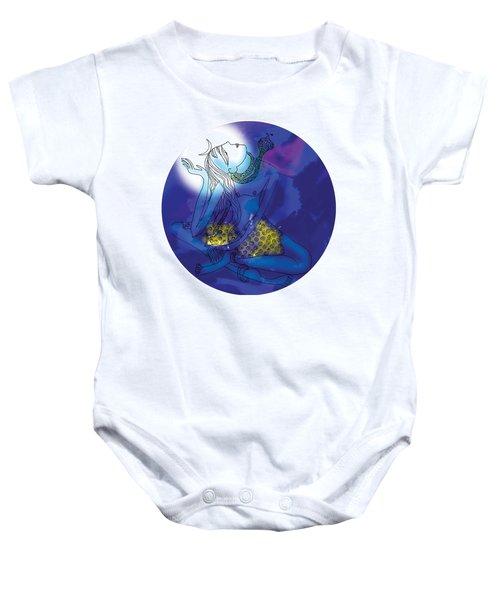 Enlightened Shiva  Baby Onesie
